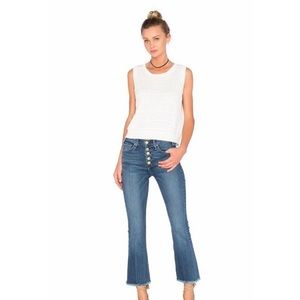 McGuire Gainsbourg Crop in Vevers Denim Jeans